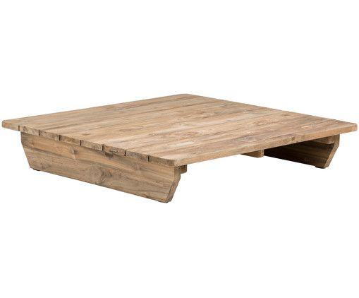 Table Basse De Jardin Newport En Bois En Marron Westwingnow