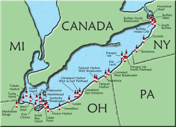 Took a cruise with Troy of the lighthouses of Lake Erie 21 years ago.....hope to visit some of these on vacation!