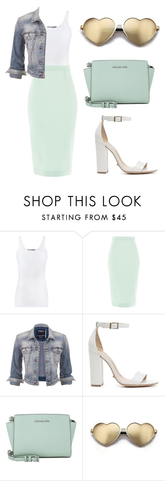 """""""Dressy"""" by rhianna-alexandre on Polyvore featuring Vince, Roland Mouret, maurices, Schutz, Michael Kors and Wildfox"""