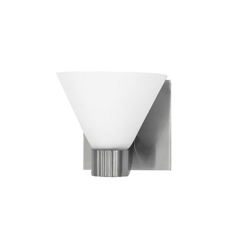 Martini Satin Nickel One-Light Bath Fixture