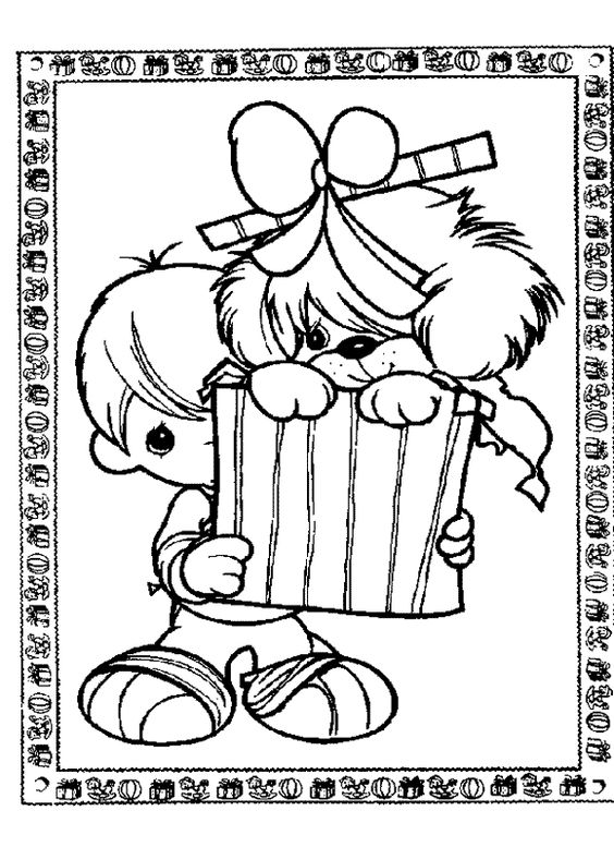 sweet moments coloring pages | Sweet Children - 999 Coloring Pages | For Cards - Precious ...