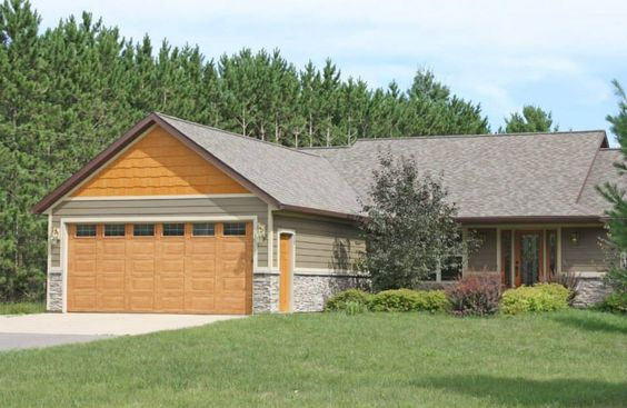 This House Features Lp Smartside Lap Siding Pre Finished