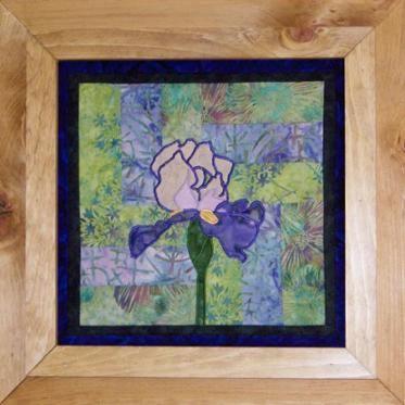 Wall Art Quilt - Flower Trilogy