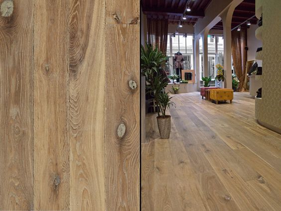 European White Oak Wide Plank Engineered Prefinished Wood