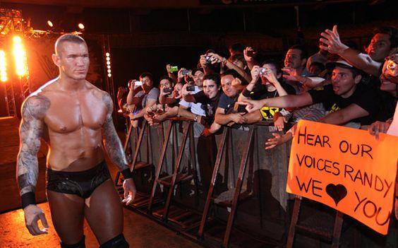 Randy Orton Santiago, Chile 2011