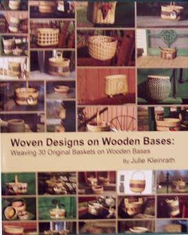 Woven Designs on Wooden Bases By Julie Kleinrath