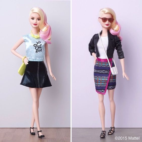 Barbie ganha diferentes tons de pele, olhos e cabelos. E sai dos saltos!!!!