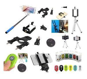 Kit Selfie Autoscatto Smartphone Telecomando Android Samsung Iphone Foto Camera Accessori Set Monopod Tripod Supporto Bicicletta telecomando bluetooth autoscatto