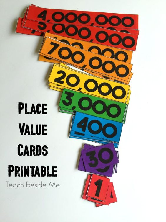 FREE Place Value Cards                                                       …