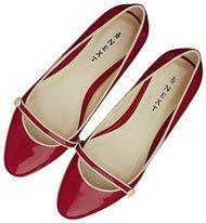 red ballet flats - love!