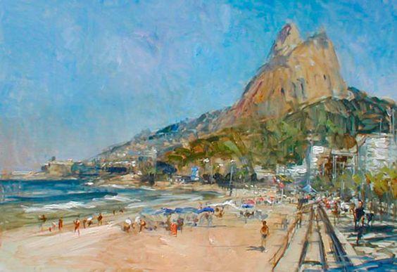 pintura por Virgílio Dias/ painting by Virgílio Dias