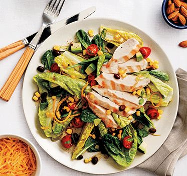 ... avocado chicken salads haha salads fitness chicken southwest chicken