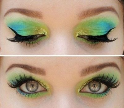 Amazing look for St. Patty's Day!  Is it important to spend more on your makeup?  Absolutely!  Whenever you are applying eye shadow, concealer, highlighter, etc. it pays to have a very good product.  The higher quality products tend to have a greater pigment and smooth easier on the eye area.  Remember to moisturize with tapping and not rubbing. Give your skin a nice glow tonight with the Micro-Dermabrasion Paste, moisture and then makeup.  Happy St. Patty's Day!  http://Anewu.myrandf.com