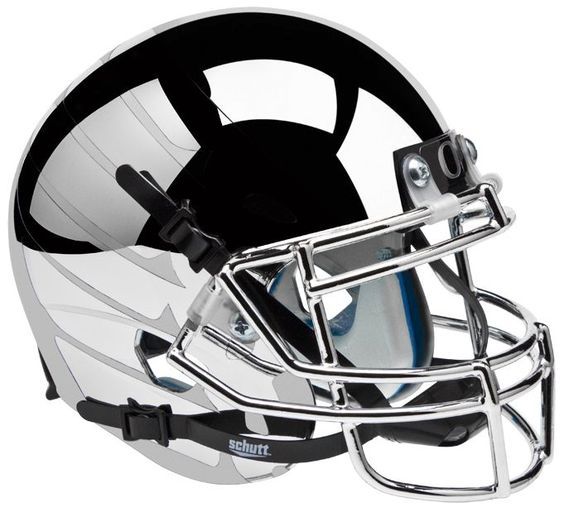Old Ghost Collectibles - Oregon Ducks NCAA Schutt XP Chrome Wing Full Size Replica Football Helmet, $324.99 (http://www.oldghostcollectibles.com/oregon-ducks-ncaa-schutt-chrome-wing-replica-xp-full-size-football-helmet/?page_context=category