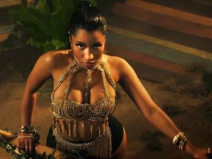 Rapper Nicki Minaj's 'Anaconda' is the most viewed music video in 24 hours, after beating Miley Cyrus' 'Wrecking Ball', which previously held the record with 12.3 million views.