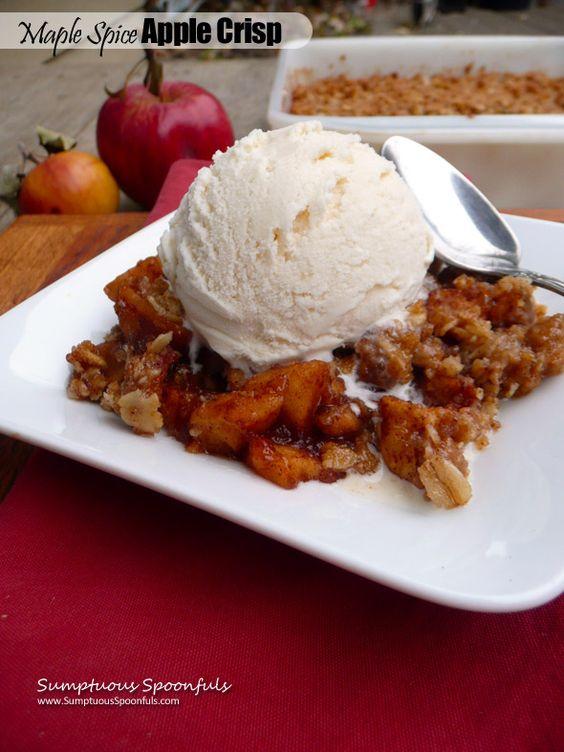 Maple Spice Apple Crisp