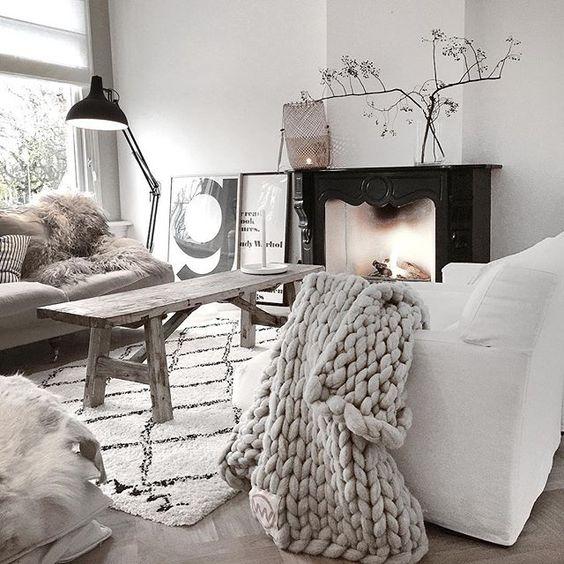 Scandi-chic home interiors