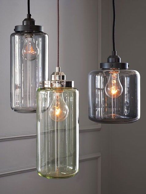industrial lighting antique glass jars were the inspirations behind these pendant lights which achieve a antique industrial lighting fixtures