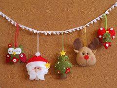 Enfeites de Natal!   by Artes by Dani
