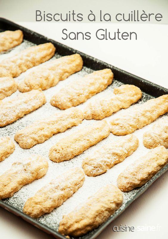Avec ces biscuits à la cuillère sans gluten, à vous les charlottes au chocolat sans gluten, les tiramisus et autres gourmandises sans gluten !