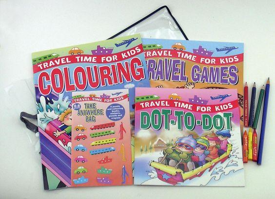 Travel Craft Kit for Kids