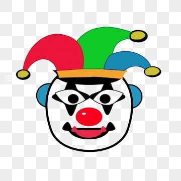 Funny Minimalist Happy Clown Simple Atmospheric Cartoon Png And Vector With Transparent Background For Free Download Happy Cartoon Cartoon Clip Art Funny Illustration