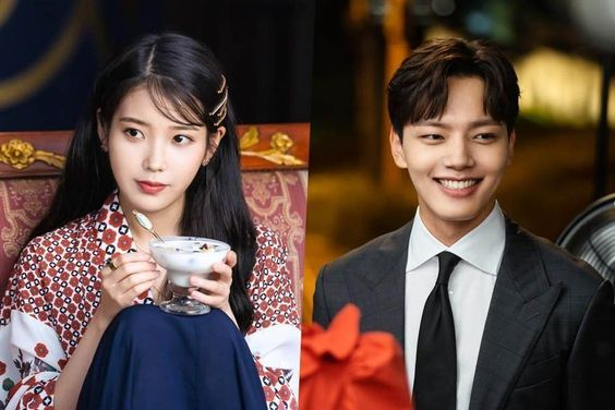 """IU And Yeo Jin Goo Are Energetic And Playful In Behind-The-Scenes Photos For """"Hotel Del Luna"""""""