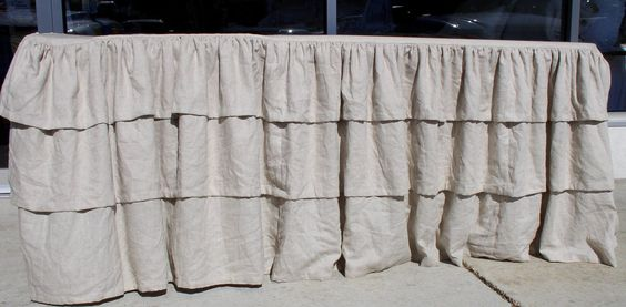 Ruffled Table Cloths