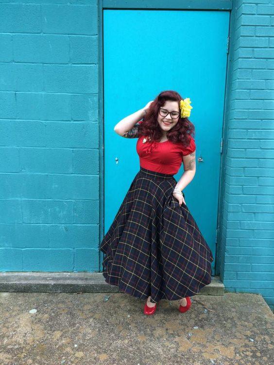 Seashell Dresses   Tartan Skirts