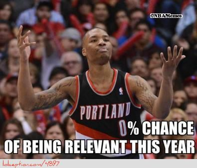 Image result for trail blazers memes