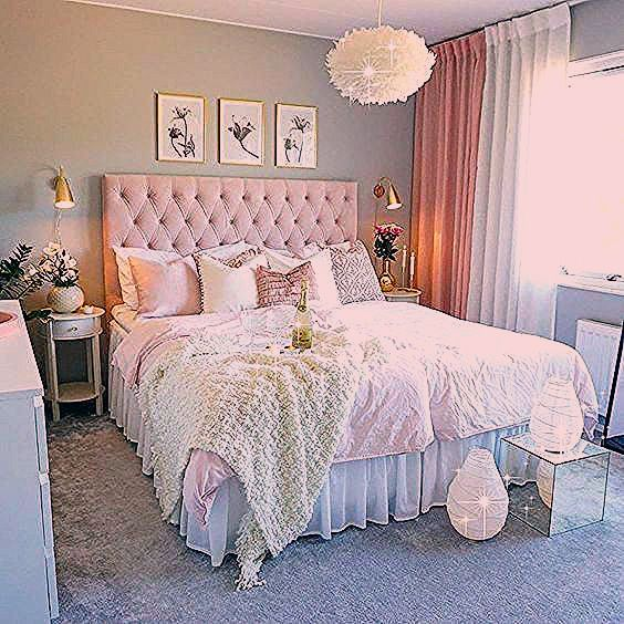 White Bedroom With Plants Boho In 2020 Shabby Chic Bedrooms Remodel Bedroom Bedroom Vintage