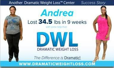 It only took 9 weeks for Andrea to lose 34.5 pounds! See what you can accomplish in a short period of time! www.dramaticweightloss.com