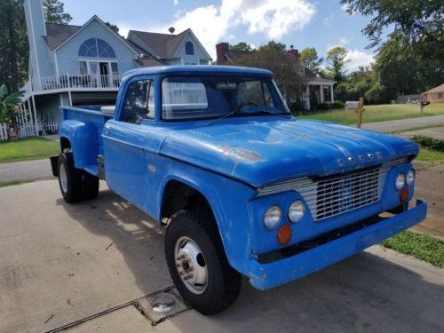 Old Dodge Trucks For Sale >> 1961 Dodge Ram 3500 Pickup Truck Vintage Classic 1960s
