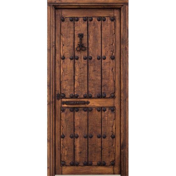 Puertas rusticas en madera buscar con google puertas y for Puertas rusticas exterior