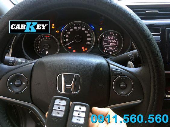 Làm chìa khóa thông minh ô tô Honda City