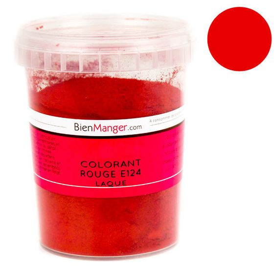 bienmanger aromes et colorants colorant alimentaire rouge e124 poudre liposoluble - Colorant Liposoluble