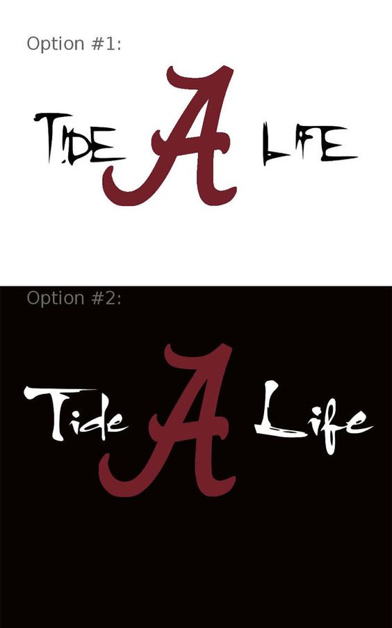 Tide life university alabama a decal crimson by for Alabama football mural