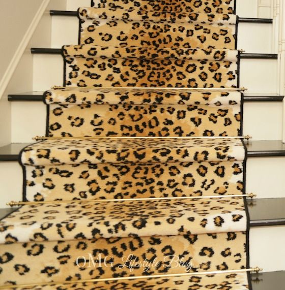 Animal Print Rug Runners For Stairs: Pinterest • The World's Catalog Of Ideas
