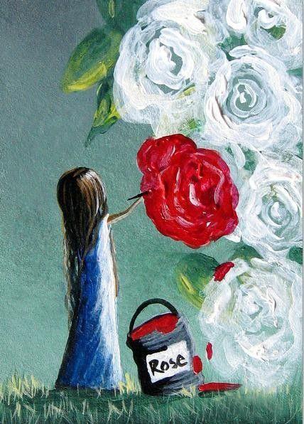 """Shawna Erback  """"ONE RED ROSE"""""""