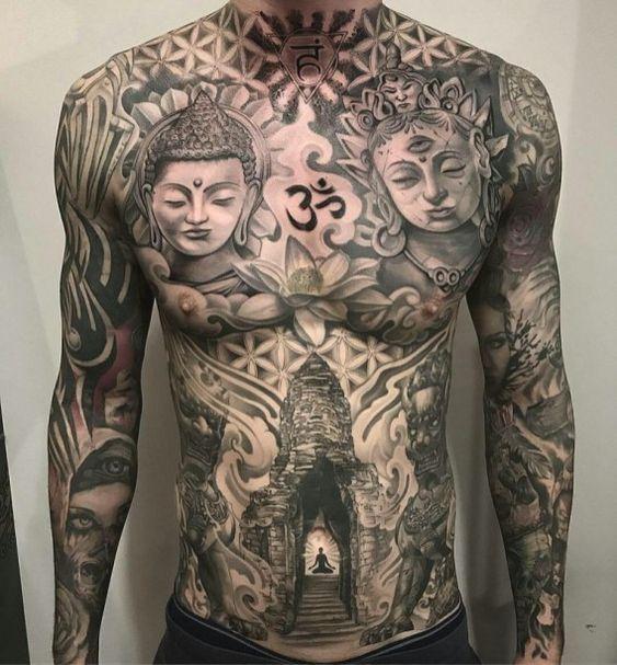 Pin On Asian Tattoos