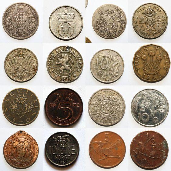 coins from around the world numismatics pinterest