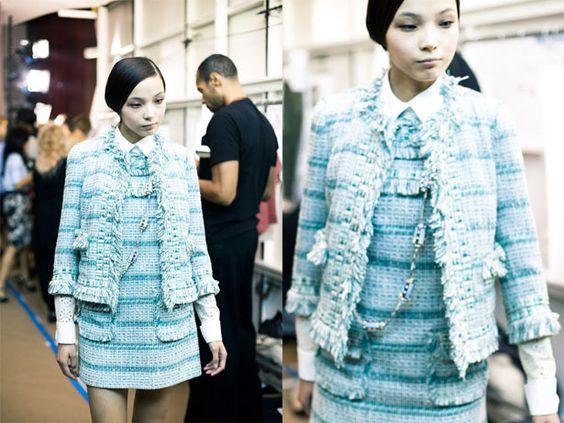 Little Bo Peep fashion  Little Bo-Peep meets Chanel.