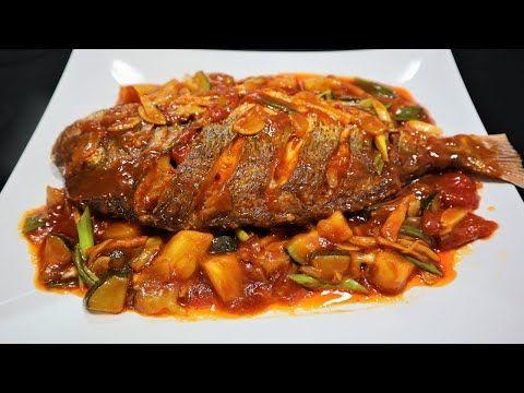 Resep Ikan Asam Manis Nanas Yang Gurih Dan Segar Banget Youtube Resep Ikan Makanan Resep Masakan