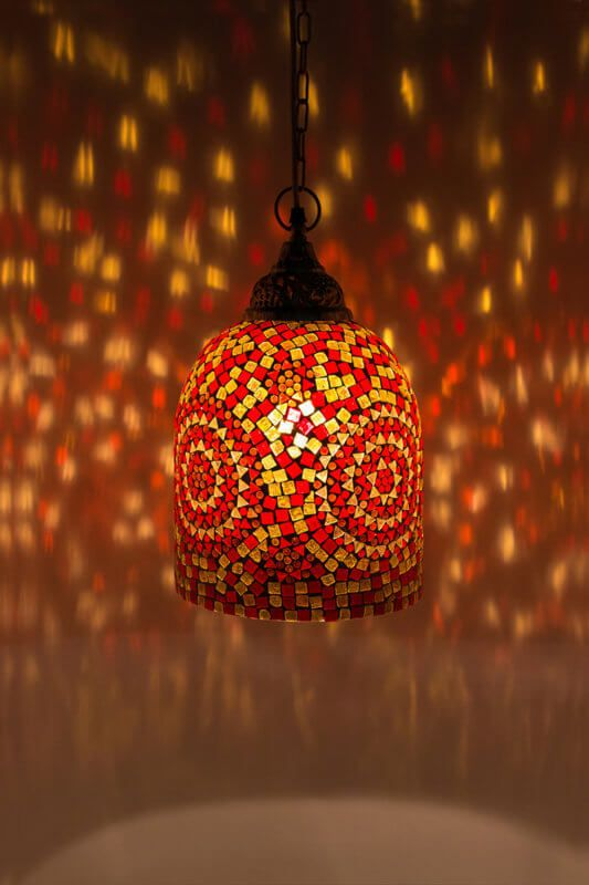 Mozaiek Lamp Rood Oranje Jaipur Mozaiek Lamp Online In 2020 Turkse Lampen Lampen Mozaiek