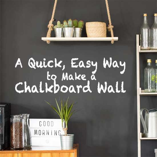 How To Create A Writeable Wall With Chalkboard Wallpaper 1 2 3 Chalkboard Wallpaper Chalkboard Wall Chalkboard