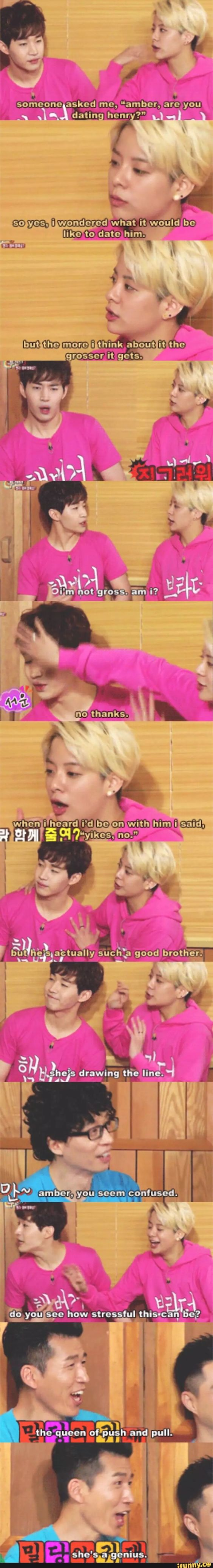 F(x) Amber & Henry on Happy Together