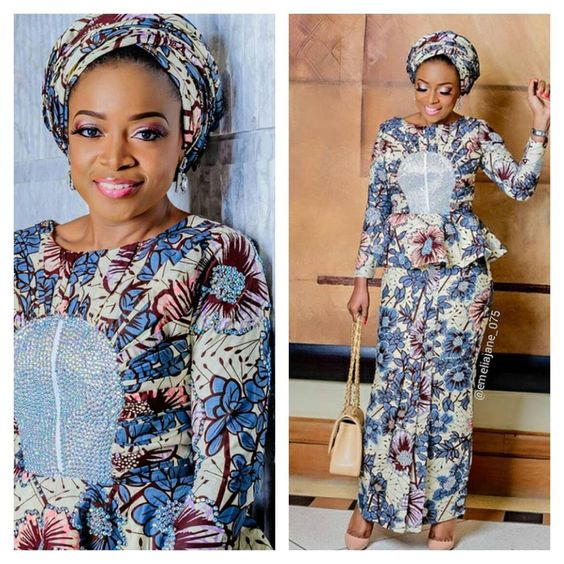 shares Facebook Twitter Google+ Pinterest WhatsApp SMSAnkara fabric continues to maintain a trend we just can't help but love, hence we have to keep up with the amazing styles fashionistas…: