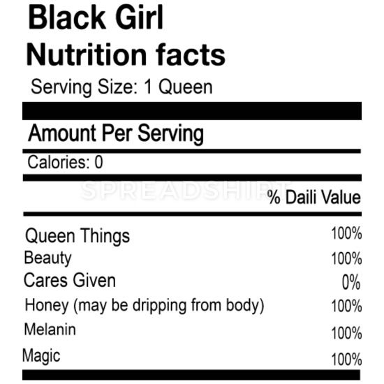 Black Girl Nutrition Facts Mouse Pad Spreadshirt In 2021 Nutrition Facts Nutrition Facts Label Watermelon Smoothies