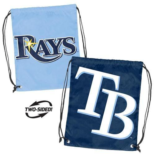 Tampa Bay Rays Bag Dual Logo Stringpack Backsack