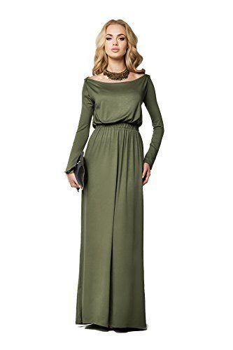 FuturoMode Elegant Empire Maxi Kleid Gesamtlänge U-boot-ausschnitt Langärmlig Cocktail Style Offen Halsausschnitt Größe eu 36-46 UK FM08, http://www.amazon.de/dp/B01AY9ALOG/ref=cm_sw_r_pi_awdl_x_bYrbybZSFBWX9